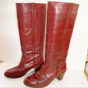 Vintage Dexter heeled boots